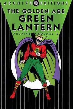 Cover for the The Golden Age Green Lantern Archives Vol. 2 Trade Paperback