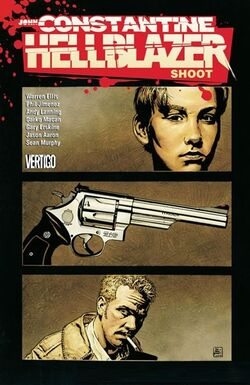 Cover for the Hellblazer: Shoot Trade Paperback