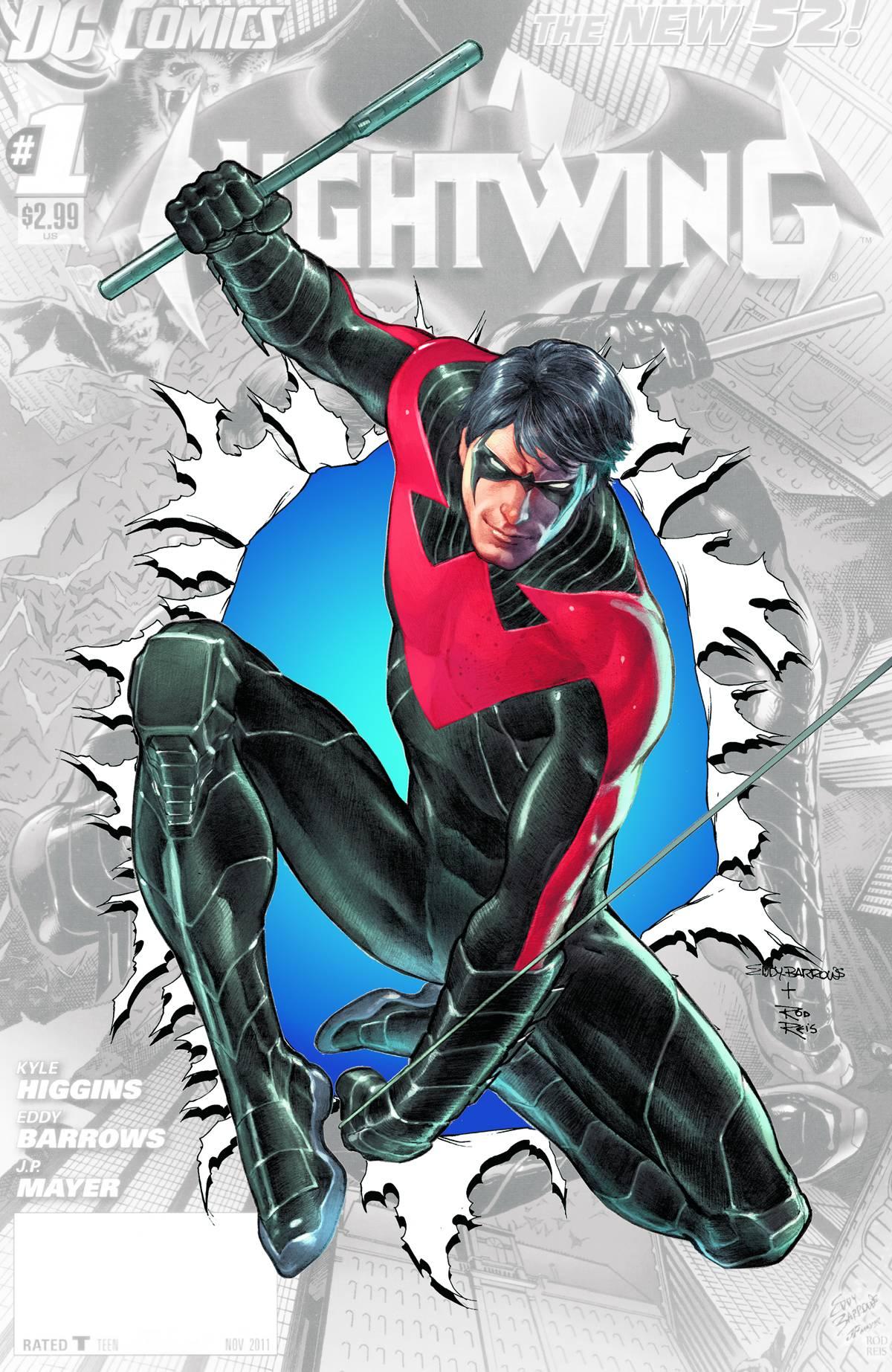 Nightwing Vol 3 0 Textless
