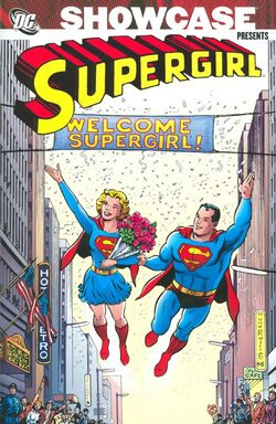 Cover for the Showcase Presents: Supergirl Vol. 2 Trade Paperback