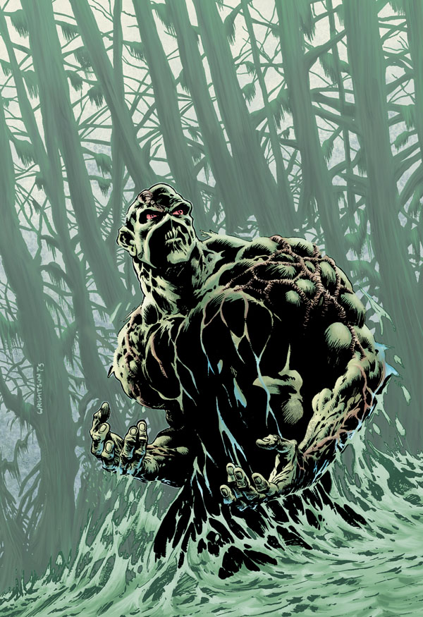 Swamp Thing (New Earth)   DC Database   FANDOM powered by Wikia
