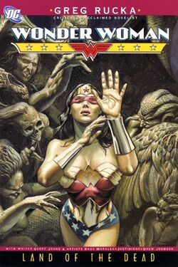 Cover for the Wonder Woman: Land of the Dead Trade Paperback