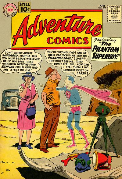 Image result for adventure comics 283