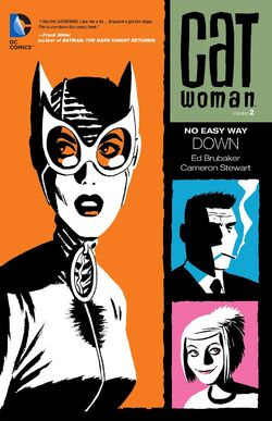 Cover for the Catwoman: No Easy Way Down Trade Paperback