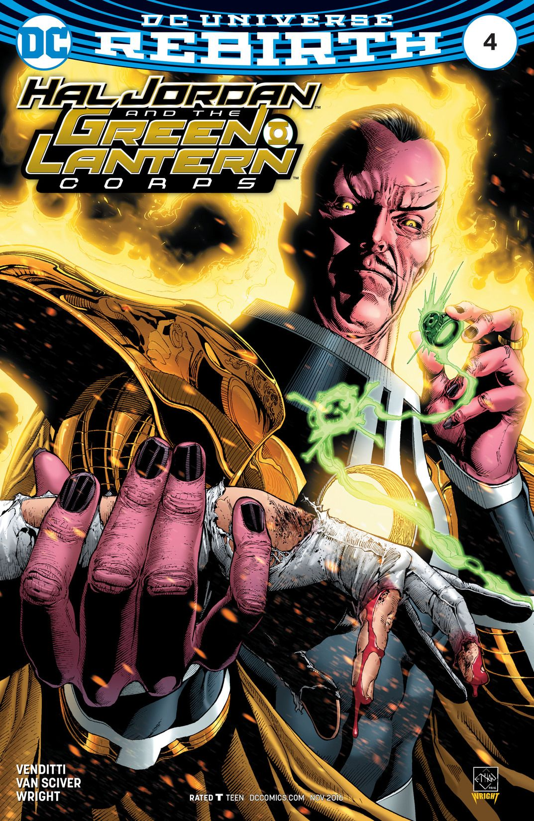 hal jordan and the green lantern corps vol 1 4 | dc database