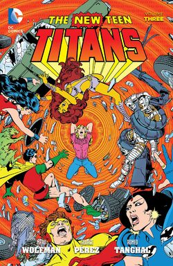 Cover for the The New Teen Titans Vol. 3 Trade Paperback
