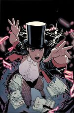 Zatanna during her time with the Seven Soldiers