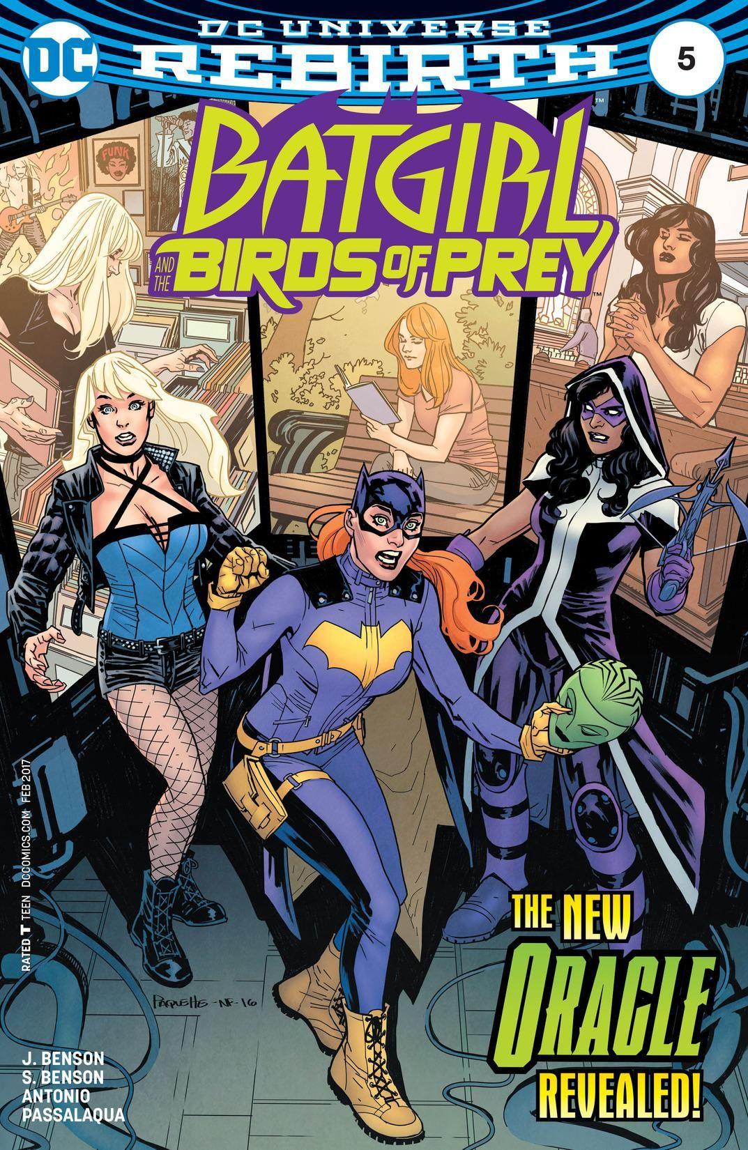 Batgirl And The Birds Of Prey Vol 1 5 Dc Database Fandom