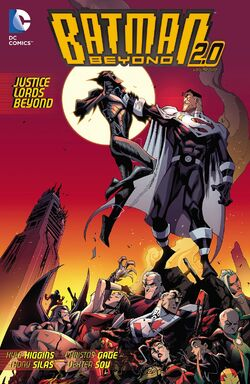 Cover for the Batman Beyond 2.0: Justice Lords Beyond Trade Paperback