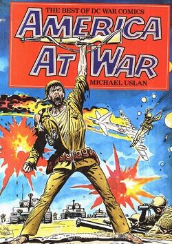 Cover for the America at War: The Best of DC War Comics Trade Paperback