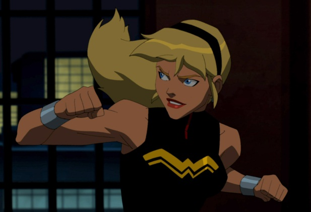 Image result for cassie sandsmark young justice