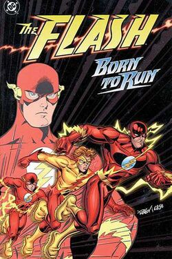Cover for the The Flash: Born to Run Trade Paperback