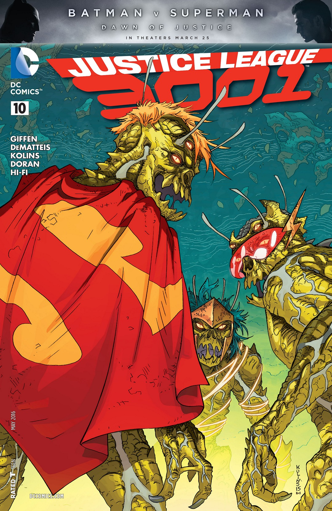 Justice League 3001 Vol 1 10   DC Database   FANDOM ...