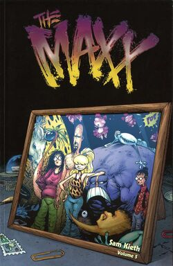 Cover for the The Maxx Vol. 5 Trade Paperback