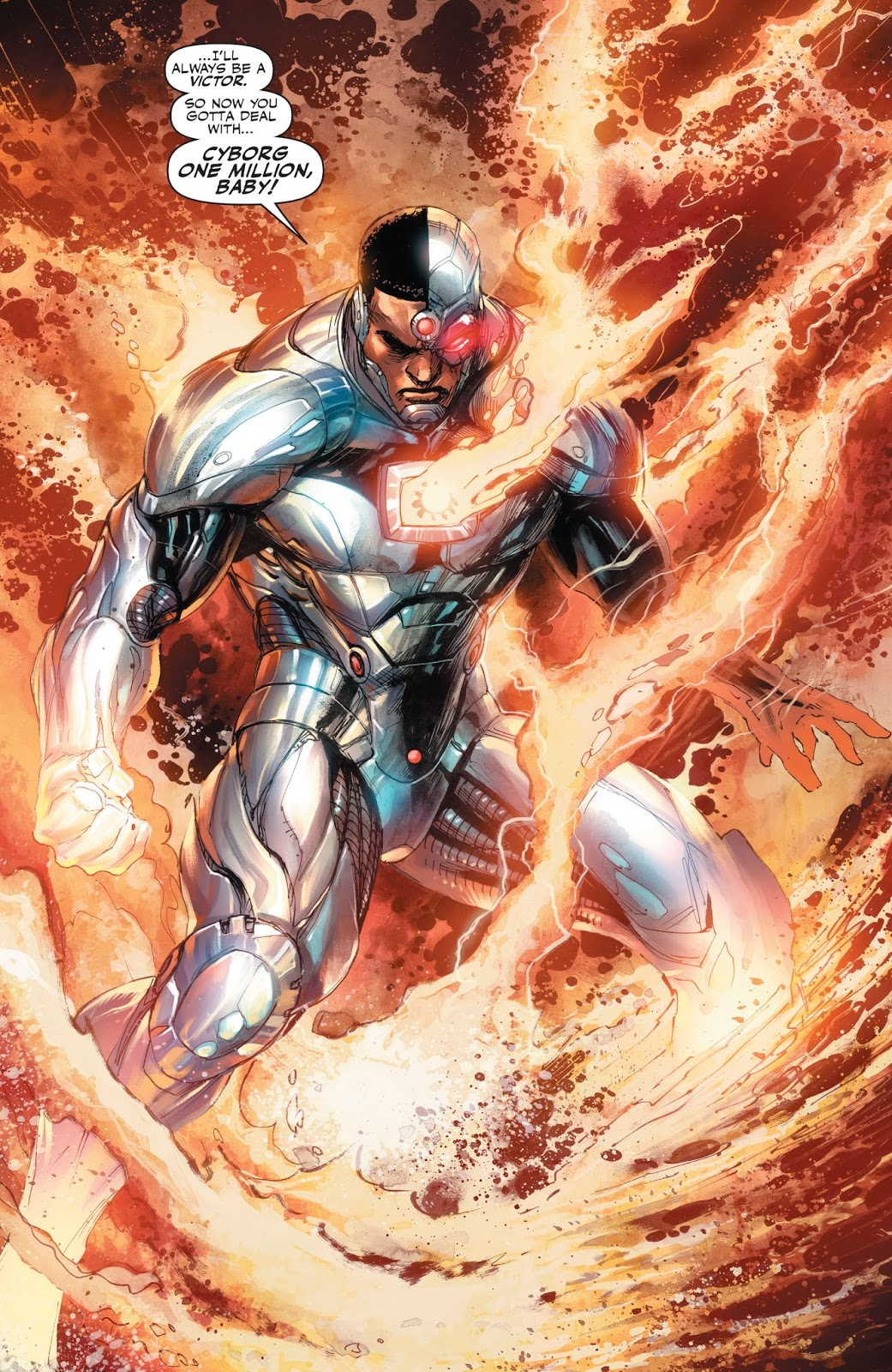 Victor Stone (Prime Earth) | DC Database | FANDOM powered by Wikia