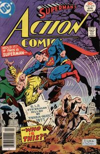 Terra-Man faked Superman's death for an ulterior sinister motive.