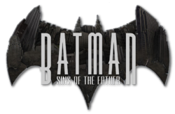 Batman Sins of the Father (2018) logo