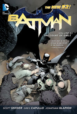 Cover for the Batman: The Court of Owls Trade Paperback