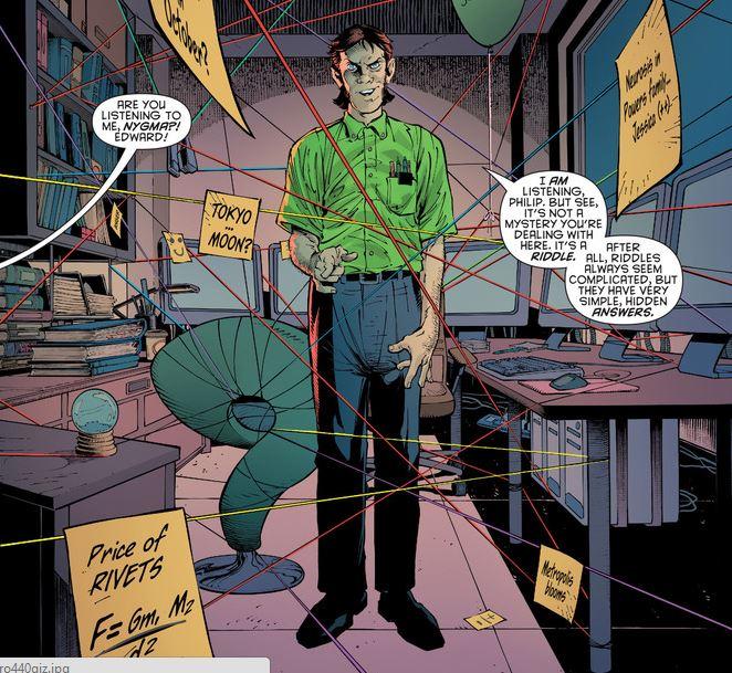 Edward Nygma (Prime Earth) | DC Database | Fandom