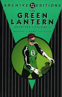 Cover for the The Green Lantern Archives Vol. 1 Trade Paperback