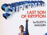 Last Son of Krypton (Novel)
