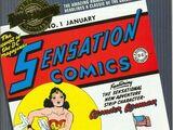Millennium Edition: Sensation Comics Vol 1 1