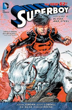 Cover for the Superboy: Blood and Steel Trade Paperback