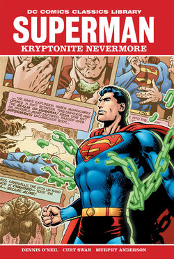 Cover for the Superman: Kryptonite Nevermore Trade Paperback