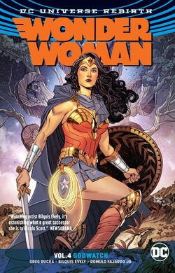 Cover for the Wonder Woman: Godwatch Trade Paperback