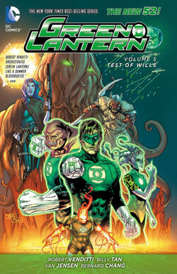 Cover for the Green Lantern: Test of Wills Trade Paperback