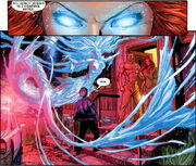 Mera displaying her hydrokinetic powers
