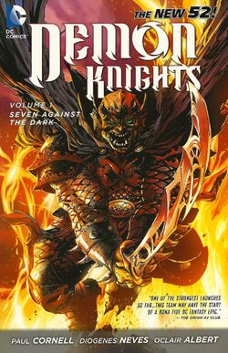 Cover for the Demon Knights: Seven Against The Dark Trade Paperback