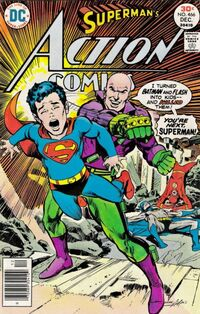 Lex Luthor de-aged Superman into a child, rationalizing that his grudge was first made against Superboy.