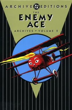 Cover for the The Enemy Ace Archives Volume 2 Trade Paperback