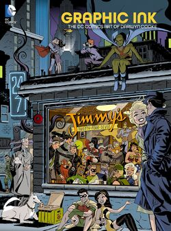 Cover for the Graphic Ink: The DC Comics Art of Darwyn Cooke Trade Paperback