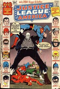 Superman is almost killed by Solomon Grundy during one of the JLA/JSA annual team-ups.