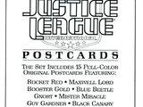Justice League International Postcards