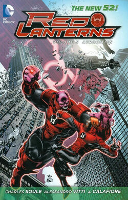 Cover for the Red Lanterns: Atrocities Trade Paperback
