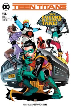 Cover for the Teen Titans: Full Throttle Trade Paperback