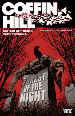 Cover for the Coffin Hill: Forest of the Night Trade Paperback