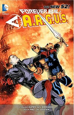 Cover for the Forever Evil: A.R.G.U.S. Trade Paperback
