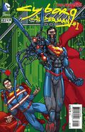 Action Comics Vol 2 23.1 Cyborg Superman