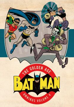 Cover for the Batman: The Golden Age Omnibus Vol. 4 Trade Paperback