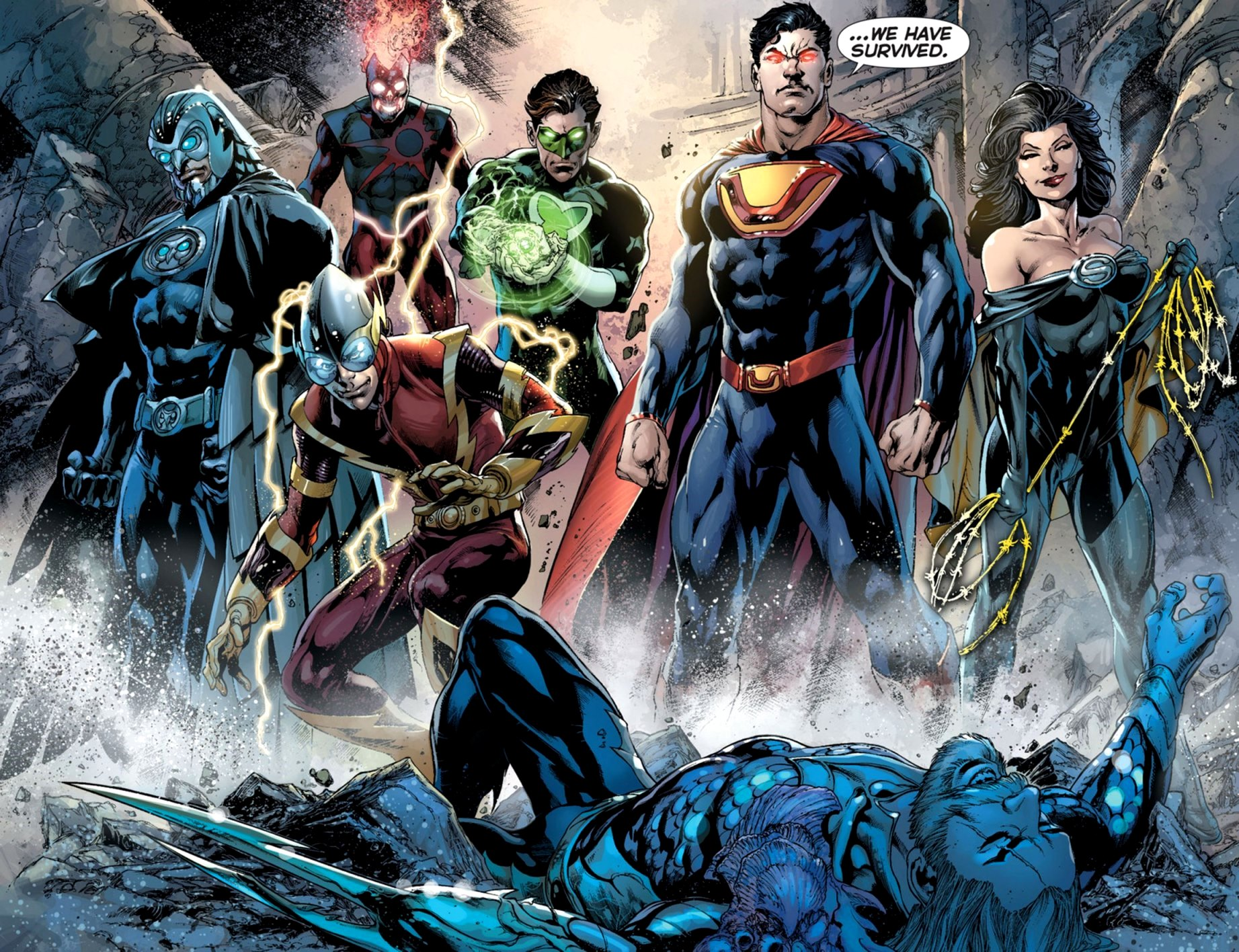 Prologue Crime Syndicate New 52 0001