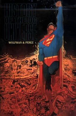 Cover for the History of the DC Universe Trade Paperback