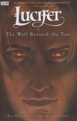 Cover for the Lucifer: The Wolf Beneath the Tree Trade Paperback