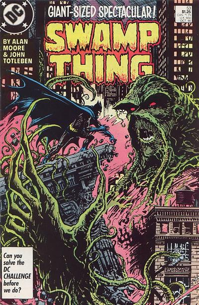Swamp Thing Vol 2 53 Dc Database Fandom Powered By Wikia