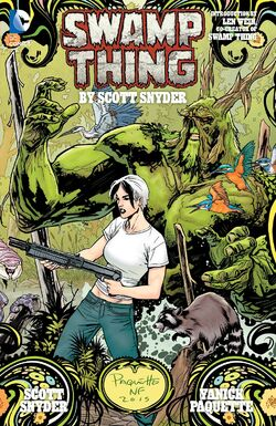 Cover for the Swamp Thing by Scott Snyder Deluxe Edition Trade Paperback