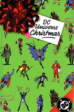 Cover for the DC Universe Christmas Trade Paperback