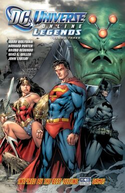 Cover for the DC Universe Online Legends: Vol 3 Trade Paperback
